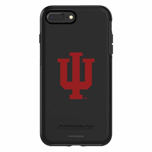 Indiana Hoosiers OtterBox iPhone 8 Plus/7 Plus Symmetry Black Case