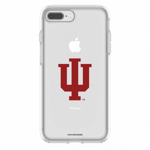 Indiana Hoosiers OtterBox iPhone 8 Plus/7 Plus Symmetry Clear Case
