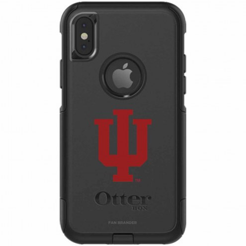 Indiana Hoosiers OtterBox iPhone X Commuter Black Case