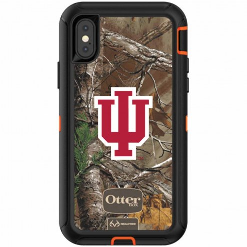 Indiana Hoosiers OtterBox iPhone X Defender Realtree Camo Case