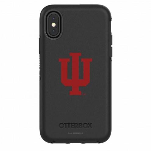 Indiana Hoosiers OtterBox iPhone X Symmetry Black Case