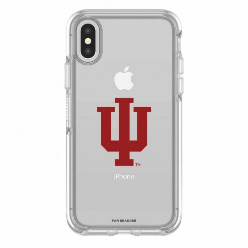 Indiana Hoosiers OtterBox iPhone X Symmetry Clear Case