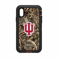 Indiana Hoosiers OtterBox iPhone XR Defender Realtree Camo Case