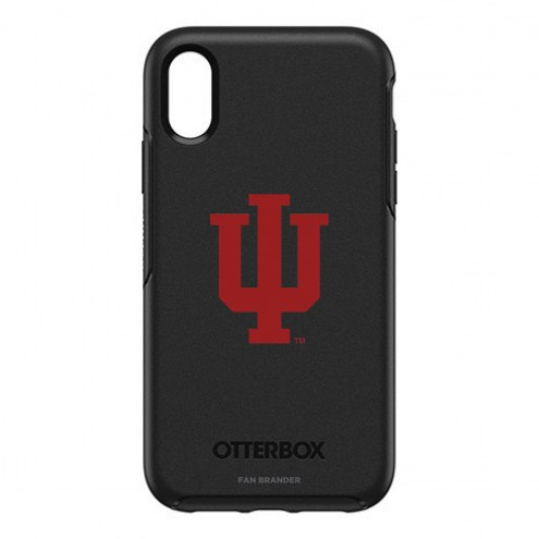 Indiana Hoosiers OtterBox iPhone XR Symmetry Black Case
