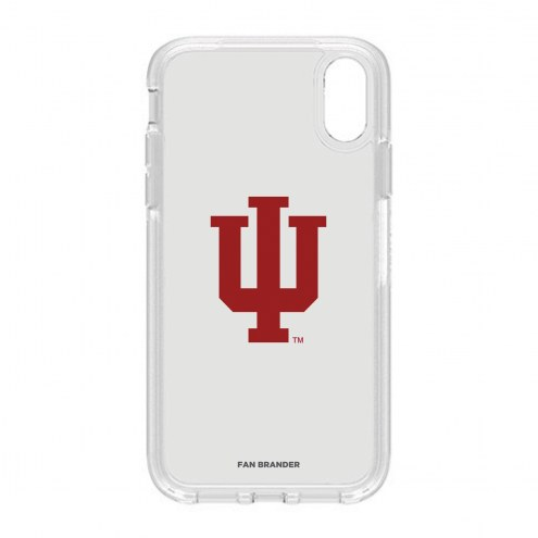 Indiana Hoosiers OtterBox iPhone XR Symmetry Clear Case