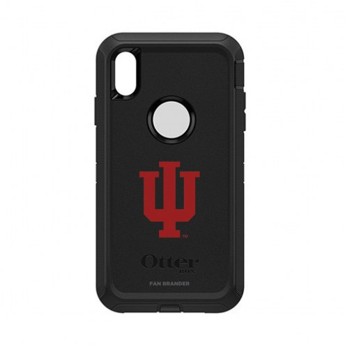 Indiana Hoosiers OtterBox iPhone XS Max Defender Black Case