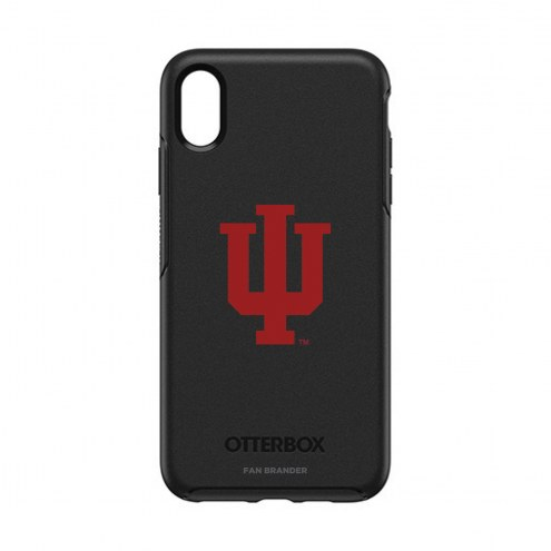 Indiana Hoosiers OtterBox iPhone XS Max Symmetry Black Case