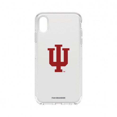 Indiana Hoosiers OtterBox iPhone XS Max Symmetry Clear Case
