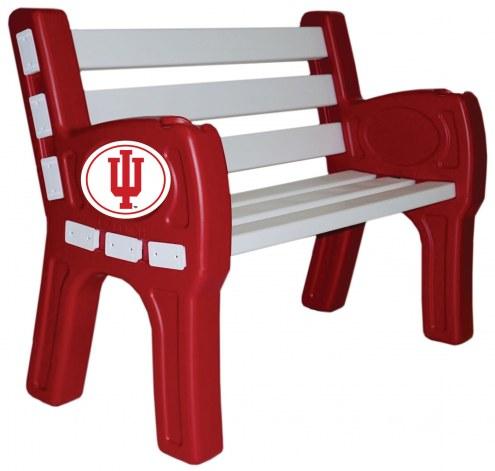 Indiana Hoosiers Park Bench