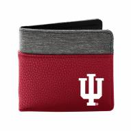 Indiana Hoosiers Pebble Bi-Fold Wallet