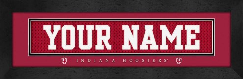 Indiana Hoosiers Personalized Stitched Jersey Print