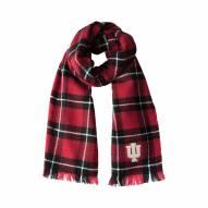 Indiana Hoosiers Plaid Blanket Scarf