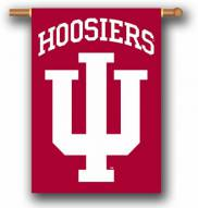 """Indiana Hoosiers Premium 28"""" x 40"""" Two-Sided Banner"""