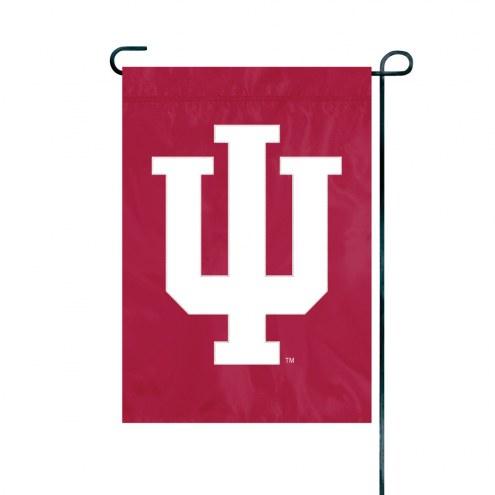 Indiana Hoosiers Premium Garden Flag