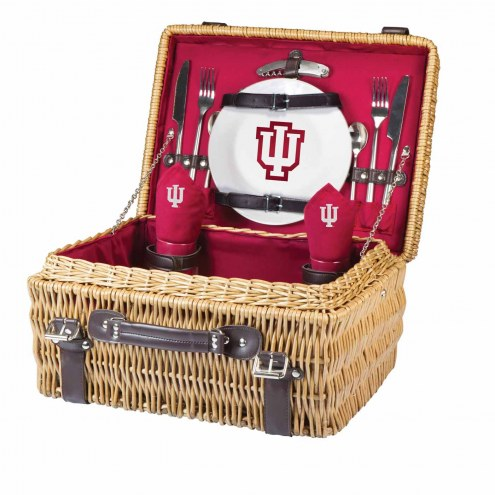 Indiana Hoosiers Red Champion Picnic Basket
