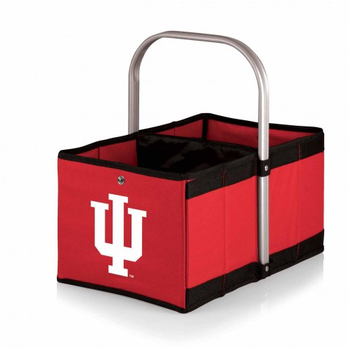 Indiana Hoosiers Red Urban Picnic Basket