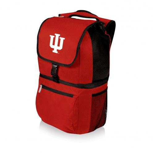 Indiana Hoosiers Red Zuma Cooler Backpack