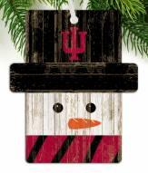 Indiana Hoosiers Snowman Ornament