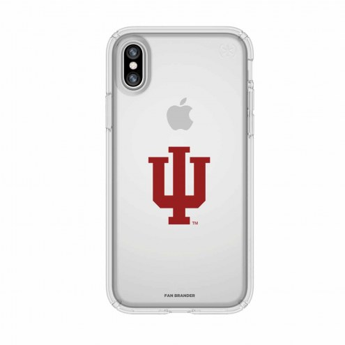 Indiana Hoosiers Speck iPhone X Presidio Clear Case