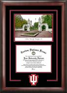 Indiana Hoosiers Spirit Graduate Diploma Frame