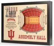Indiana Hoosiers 25-Layer StadiumViews 3D Wall Art