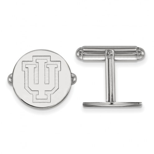 Indiana Hoosiers Sterling Silver Cuff Links