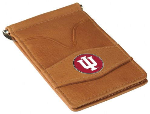 Indiana Hoosiers Tan Player's Wallet