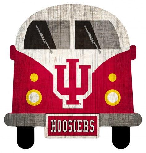 Indiana Hoosiers Team Bus Sign