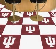 Indiana Hoosiers Team Carpet Tiles