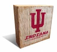 Indiana Hoosiers Team Logo Block