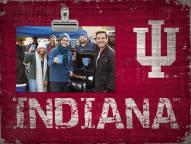 Indiana Hoosiers Team Name Clip Frame