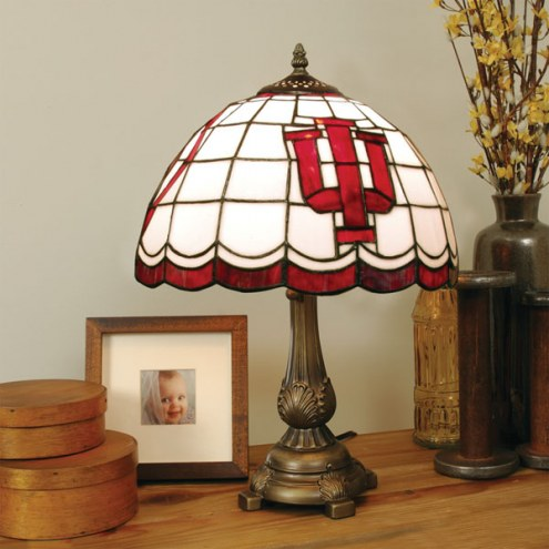 Indiana Hoosiers Tiffany Table Lamp