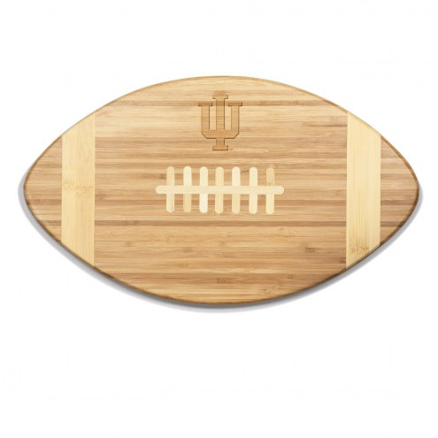 Indiana Hoosiers Touchdown Cutting Board