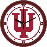 Indiana Hoosiers Traditional Wall Clock