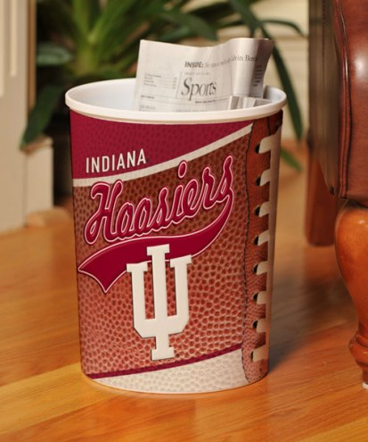 Indiana Hoosiers Trash Can
