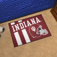 Indiana Hoosiers Uniform Inspired Starter Rug