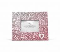Indiana Hoosiers Watercolor Picture Frame