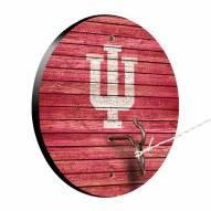 Indiana Hoosiers Weathered Design Hook & Ring Game