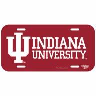 Indiana Hoosiers License Plate