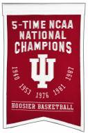 Indiana Hoosiers Champs Banner