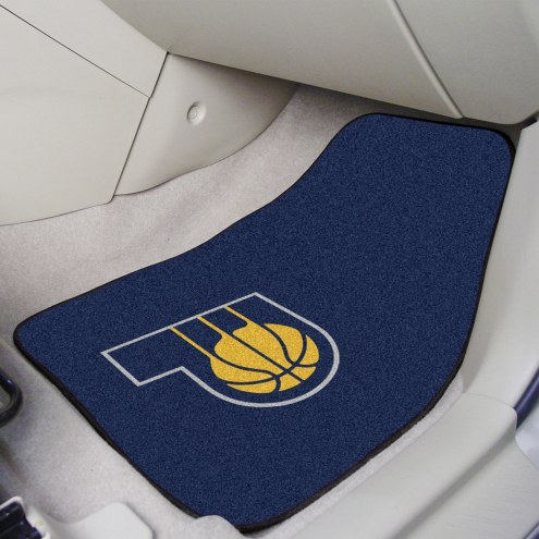 Indiana Pacers 2-Piece Carpet Car Mats