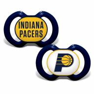 Indiana Pacers Baby Pacifier 2-Pack