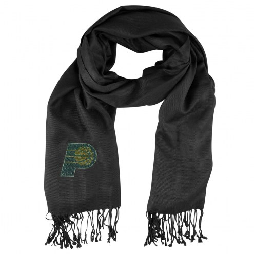 Indiana Pacers Black Pashi Fan Scarf