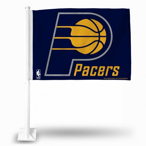 Indiana Pacers Car Flag