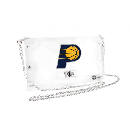 Indiana Pacers Clear Envelope Purse