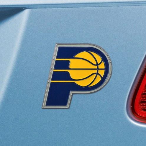 Indiana Pacers Color Car Emblem