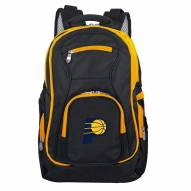 NBA Indiana Pacers Colored Trim Premium Laptop Backpack