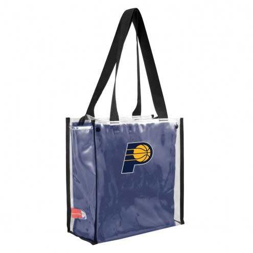 Indiana Pacers Convertible Clear Tote