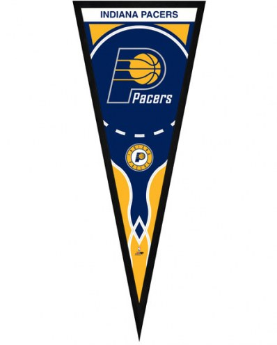 Indiana Pacers Framed Pennant