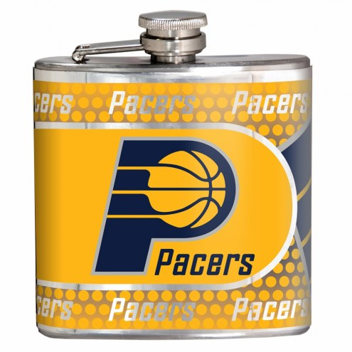 Indiana Pacers Hi-Def Stainless Steel Flask
